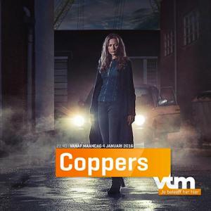 Hilde De Baerdemaeker speelt hoofdrol in Coppers vanaf maandag 4 januari 2016 op VTM