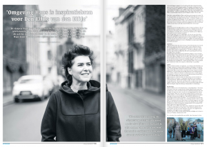 Alice Reijs interview in De Maas Driehoek