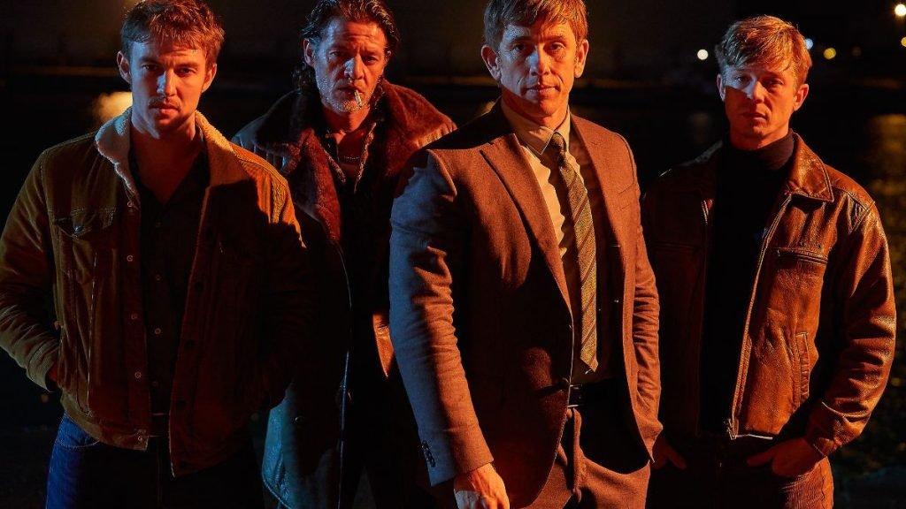 Vlaamse acteurs in Baantjer Het Begin met Maarten Nulens en Joren Seldeslachts
