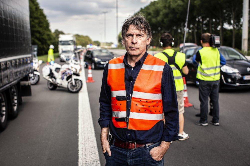 Luk Alloo bij de wegpolitie najaar 2019