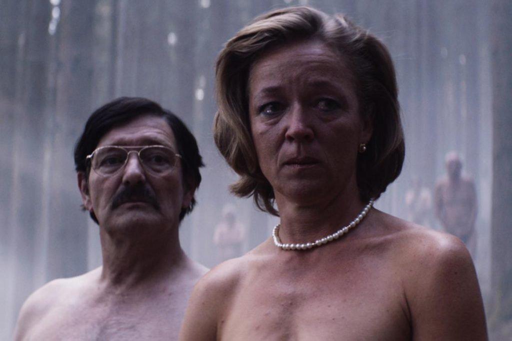 De Patrick: Pierre Bokma en Ariane van Vliet naakt