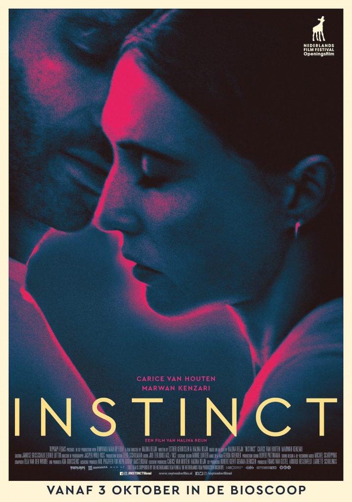 Carice van Houten en Marwan Kenzari in Instinct, regiedebuut Halina Reijn