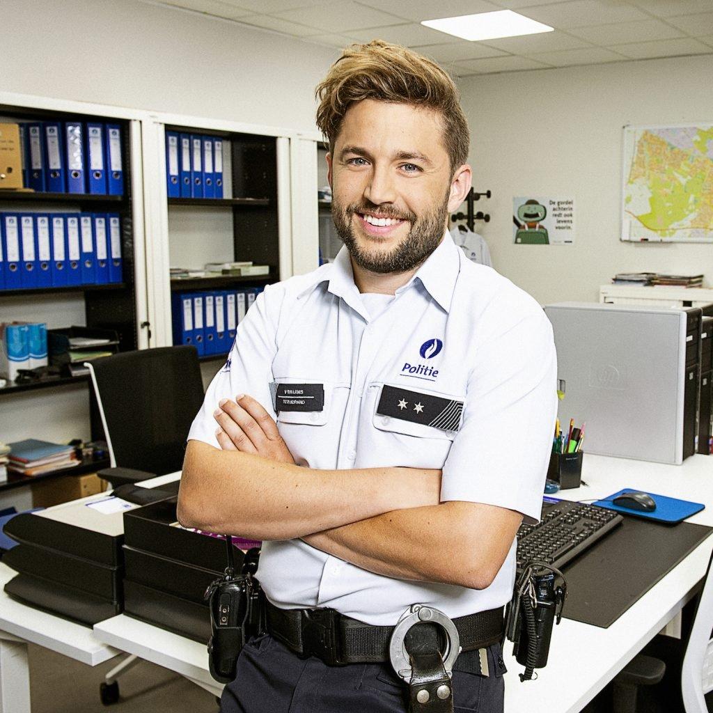 Dempsey Hendrickx speelt Vince Willems in De Buurtpolitie