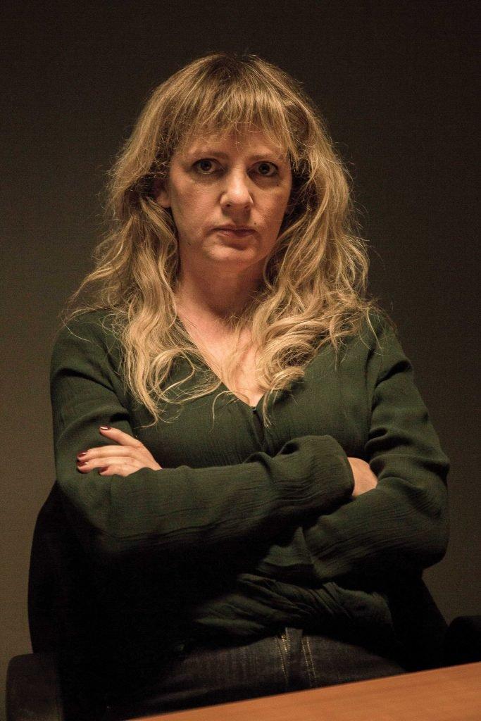Maaike Cafmeyer als Frie Palmers in De Twaalf