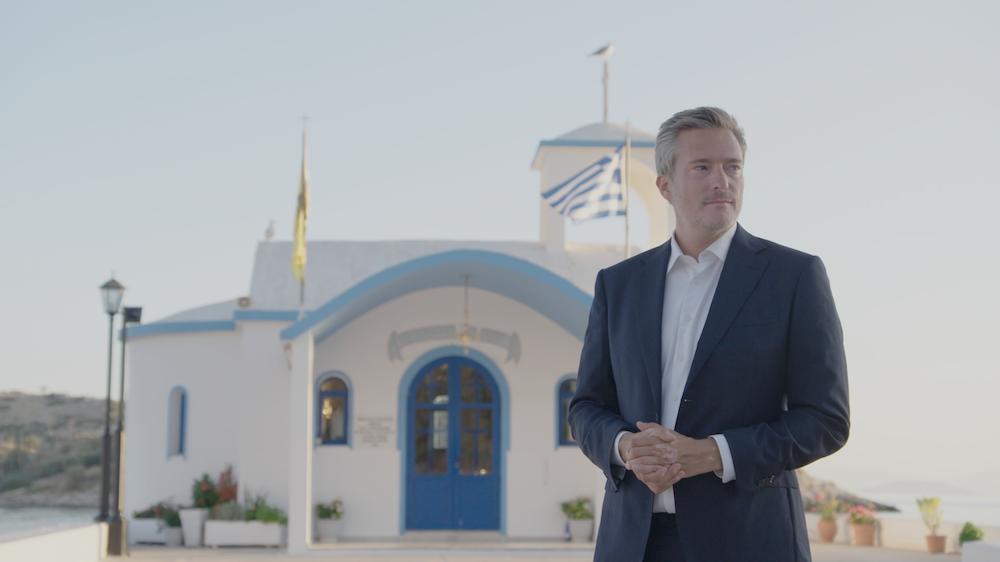 Gilles De Coster in Griekenland voor Wie Is De Mol Vlaanderen 2020