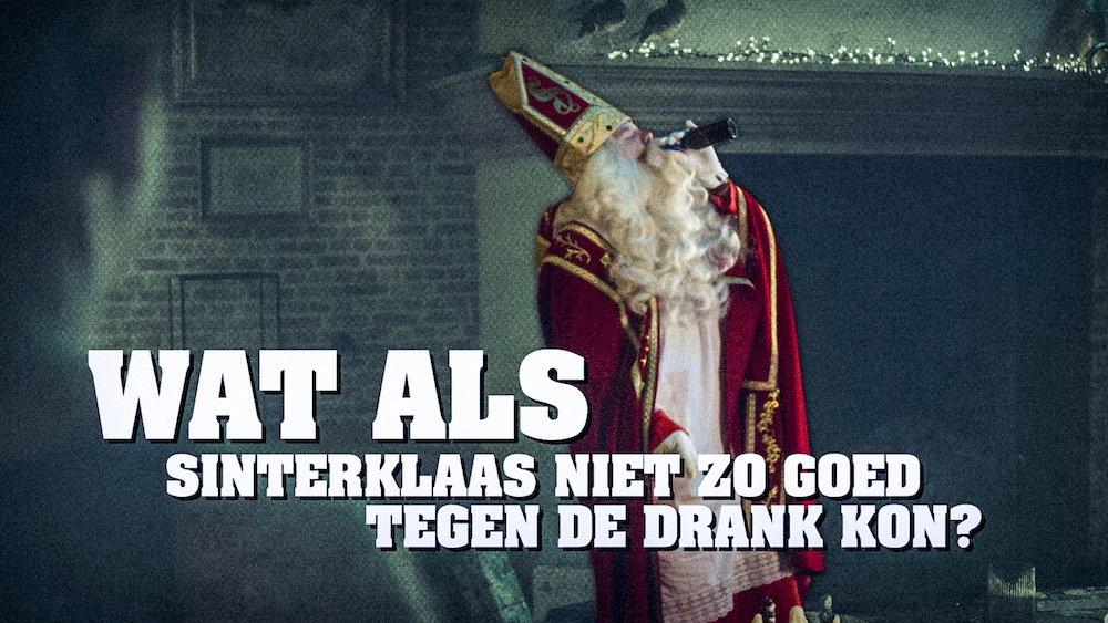 Wat als Sinterklaas niet tegen de drank kan