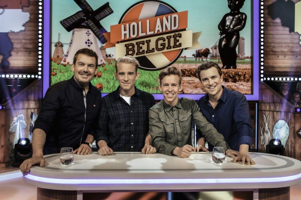 Jonas van Geel en Niels Destadsbader in Holland-België