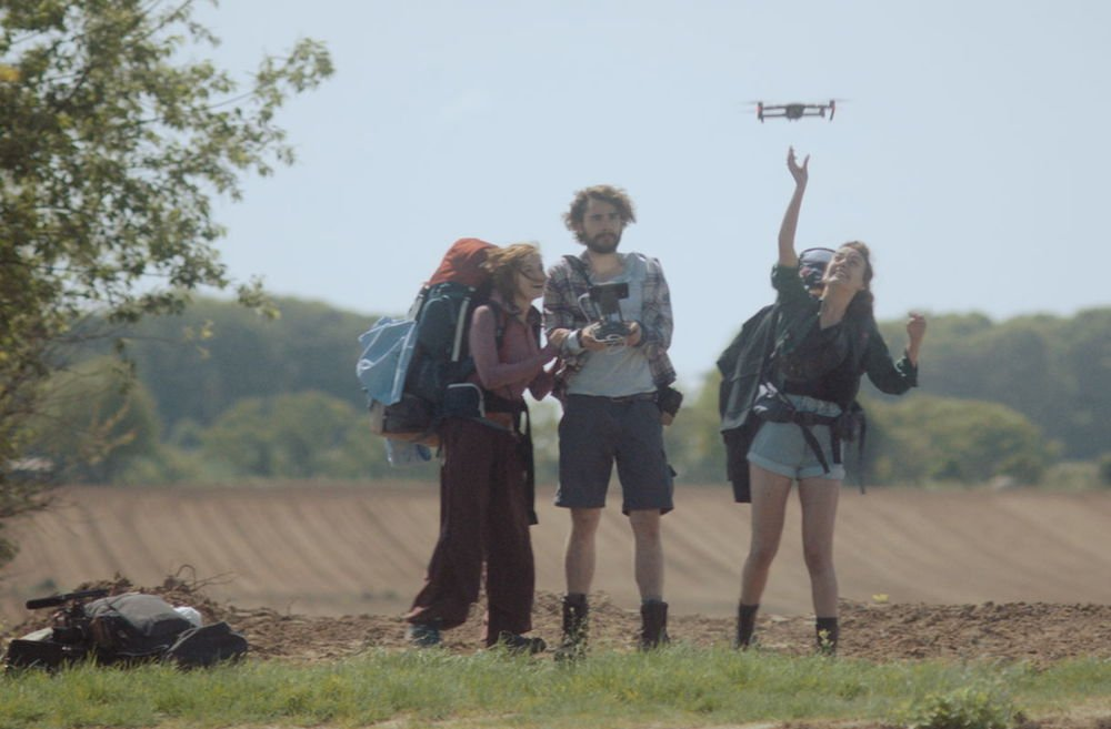 Achter de schermen bij opnames GR 5 met drone opnames