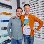 Andreas Hens en Arno Lego Masters