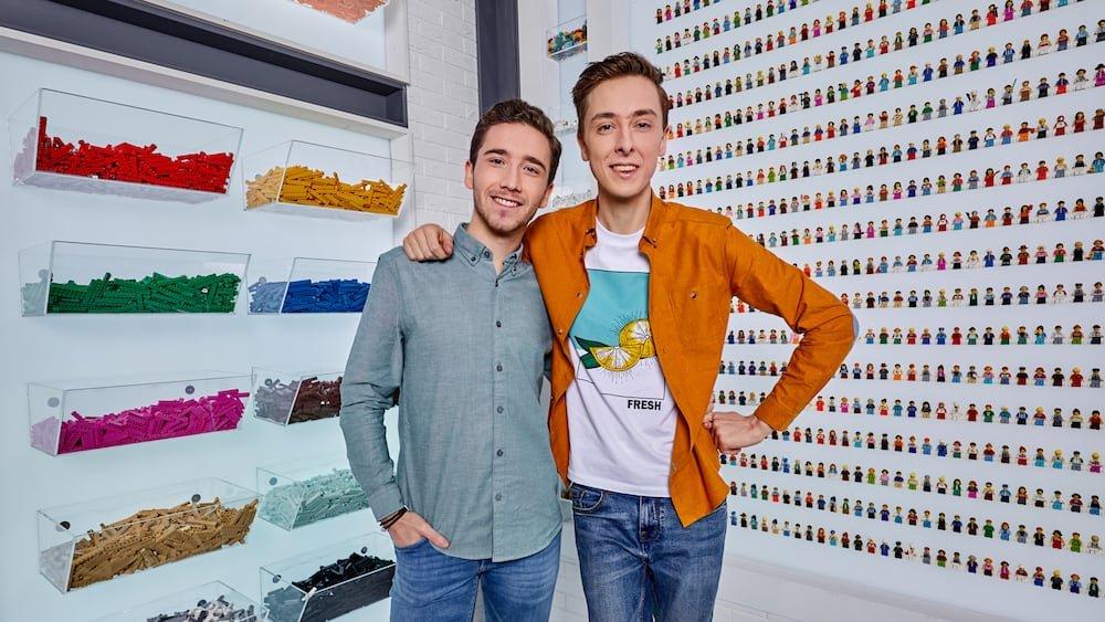 Andreas Hens en Arno Verhaeghe Lego Masters