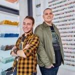Corneel en Björn Lego Masters