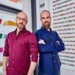 David en Giovanni Lego Masters
