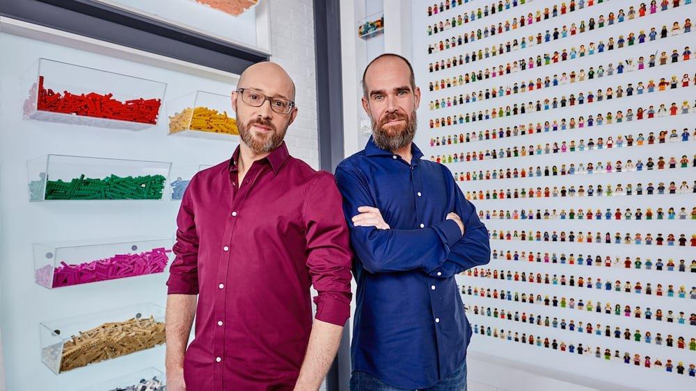 David Vanhee en Giovanni Seynhaeve Lego Masters