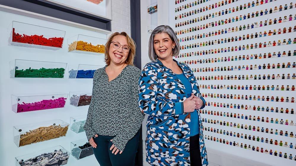 Evelien Hoekman-Lautenbag en Natasja de Vos Lego Masters