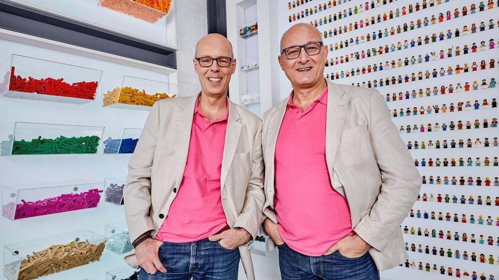 Jaco van der Molen en Eric Lemoine Lego Masters