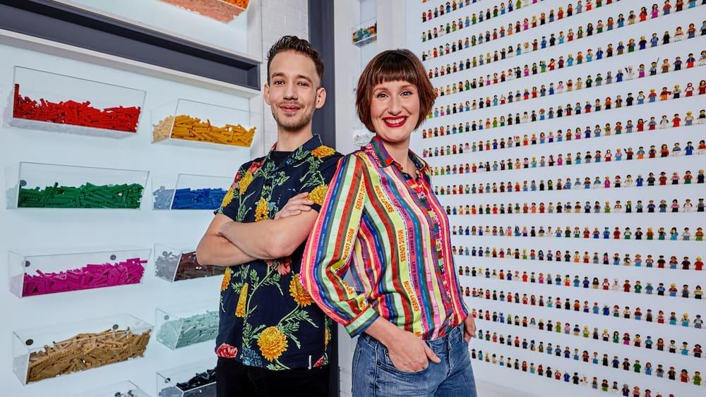 Jan Pennings en Lola Nouwens Lego Masters