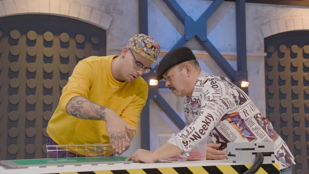 Ed en Kasper Jongejan Lego Masters in actie