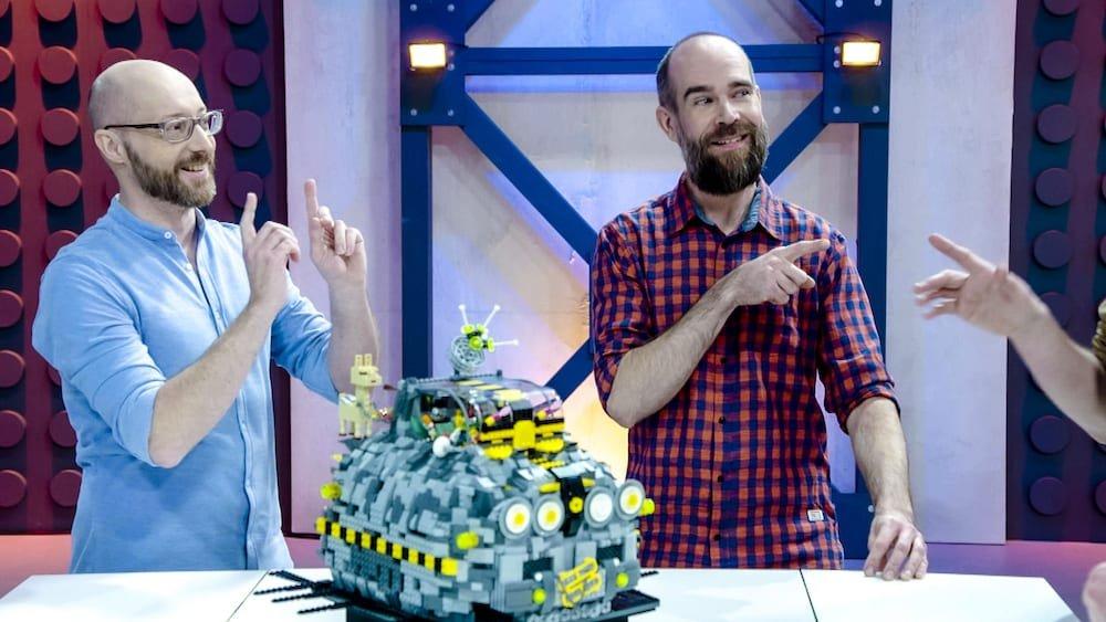 Bouwwerk Lego David Vanhee en Giovanni Seynhaeve