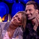 Karen Damen en Sean Dhondt emotioneel