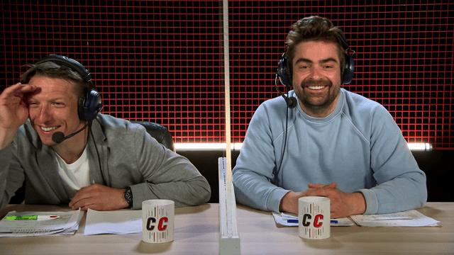 Wesley Sonck en Pedro Elias presenteren de Container Cup op VIER