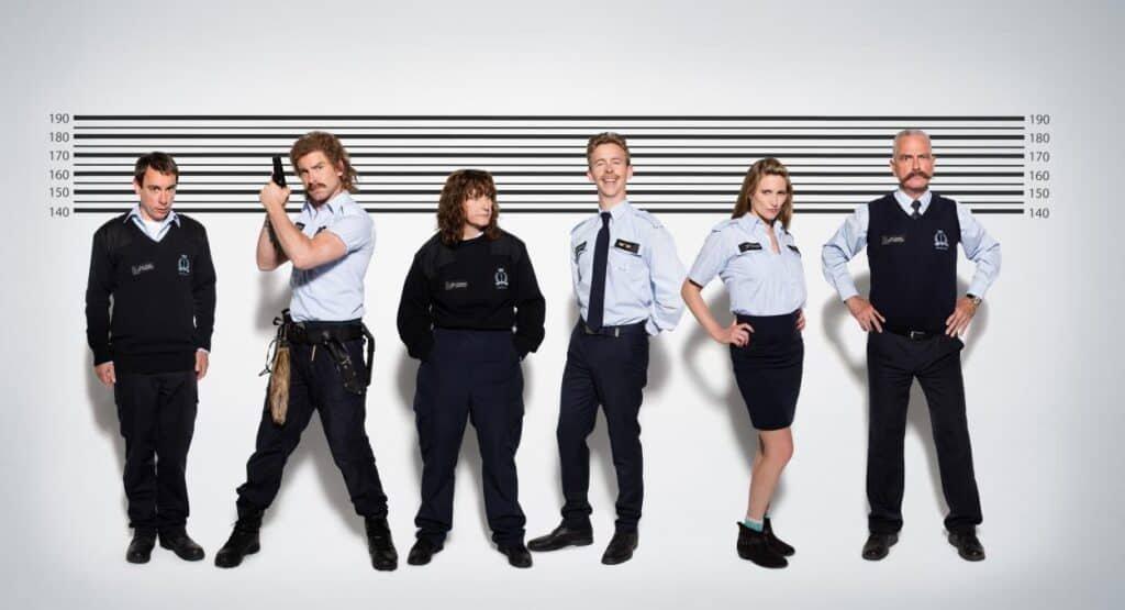 Cast Patrouille Linkeroever - eerste seizoen