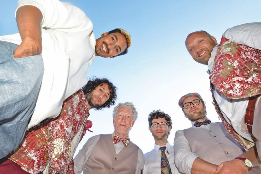 Tweede seizoen papadag - hoofdrolspelers Hassan Salah Slaby, Hajo Bruins, Ruben van der Meer, Guido Pollemans, David Lucieer en George Tobal.
