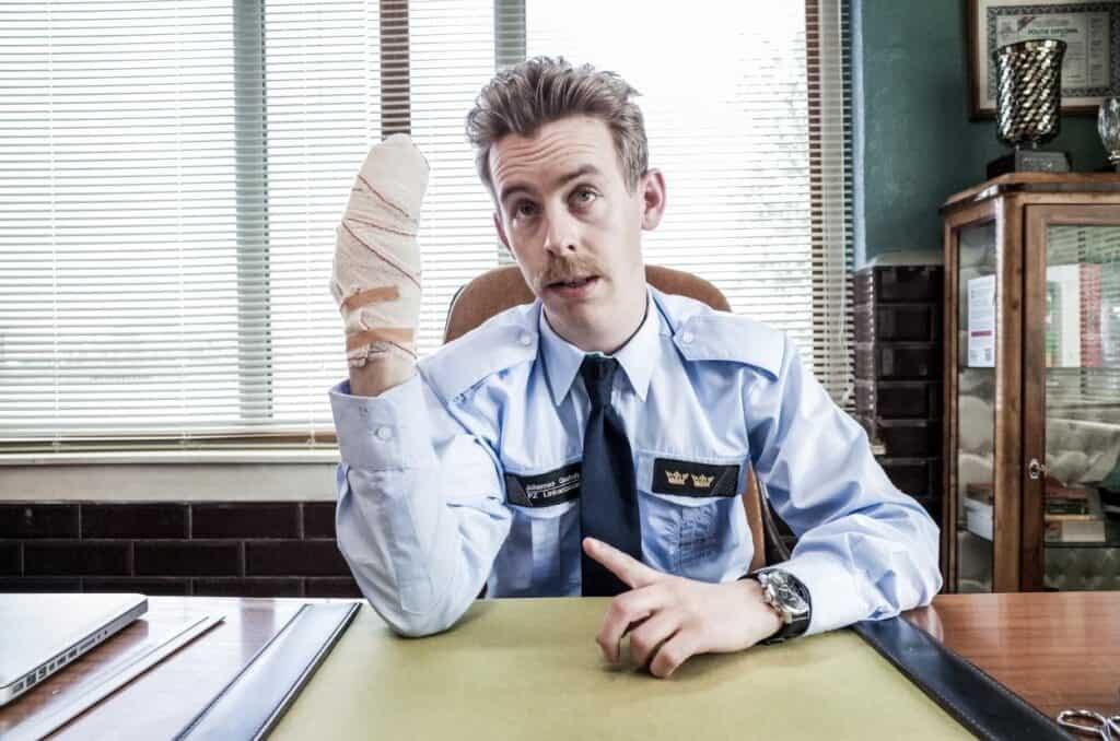Jonas Van Geel in Patrouille Linkeroever