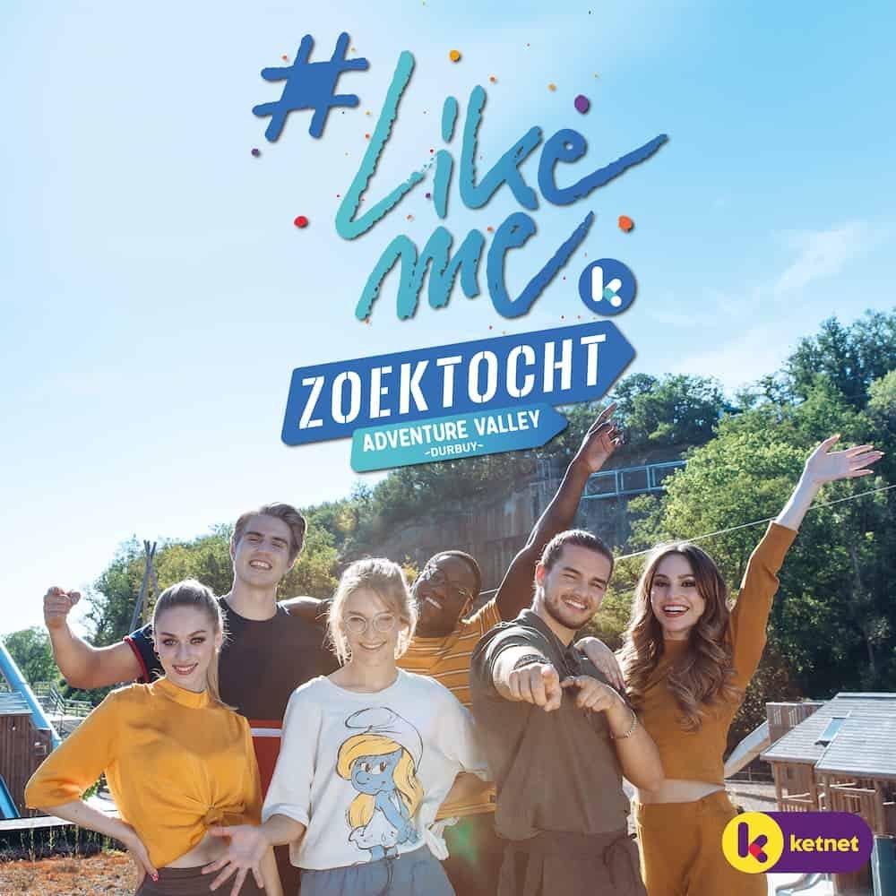 Zoektocht #LikeMe cast in Durbuy