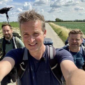 Arnout Hauben trekt samen met zijn vrienden Ruben Callens en Philippe Niclaes op een 500 km lange trektocht door België.