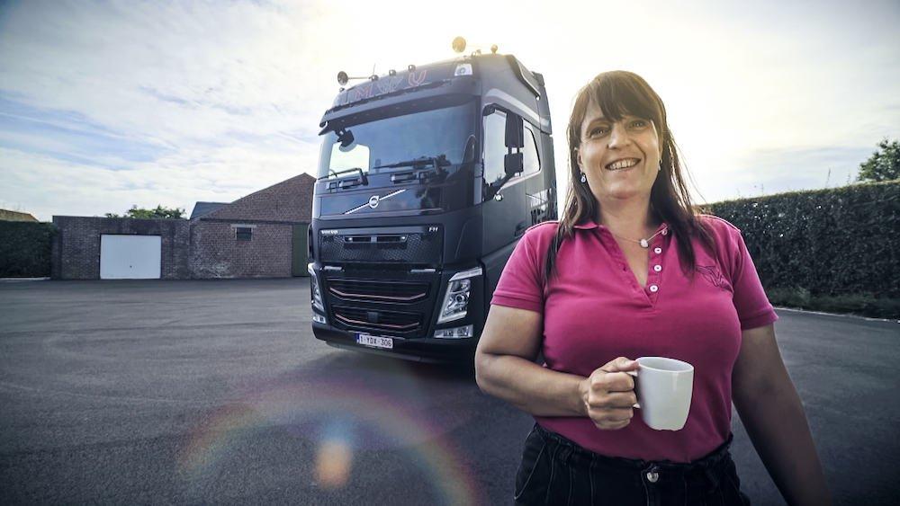 Edith Deseyne (De Experte) - Lady Truckers VTM 2