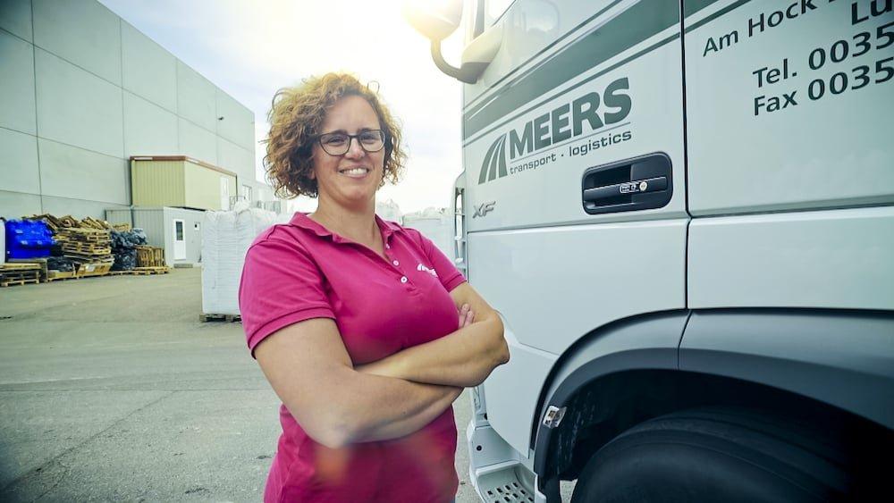 Griet Aerts (De Dromer) Lady Truckers VTM2