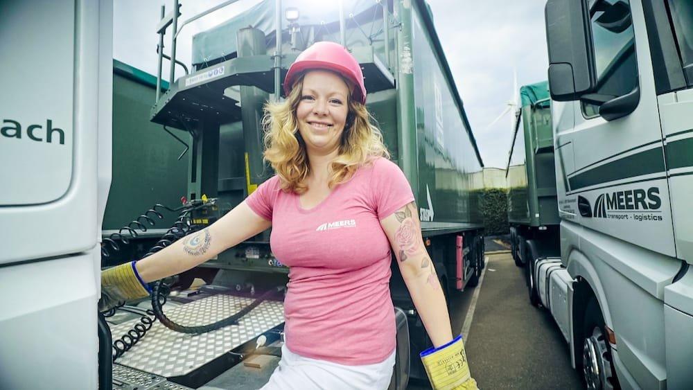 Karolien Verbeeck (De Ontdekker) Lady Truckers VTM2