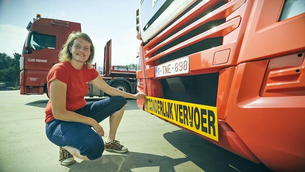 Tinne Claes (De Specialiste) Lady Truckers VTM 2