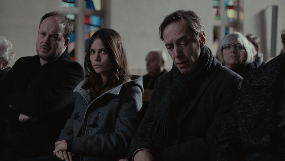 Jan Hammenecker naast Charlotte Timmers en Kris Cuppens