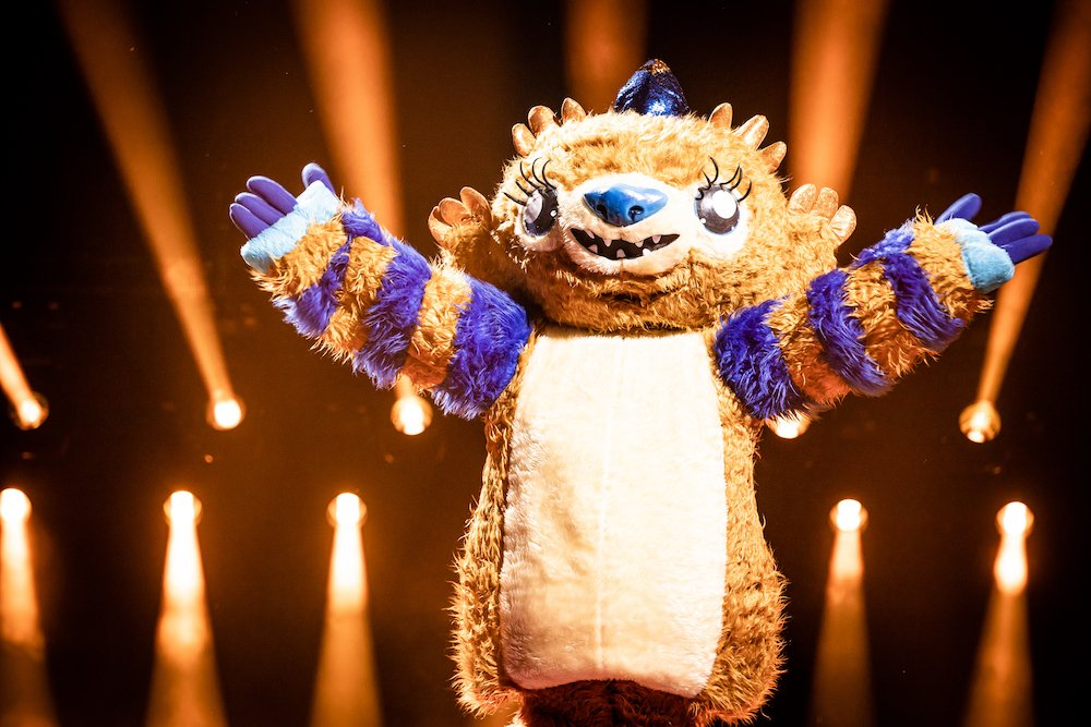 Monster in eerste aflevering The Masked Singer