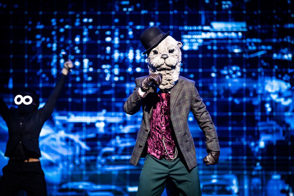 Otter in eerste aflevering The Masked Singer