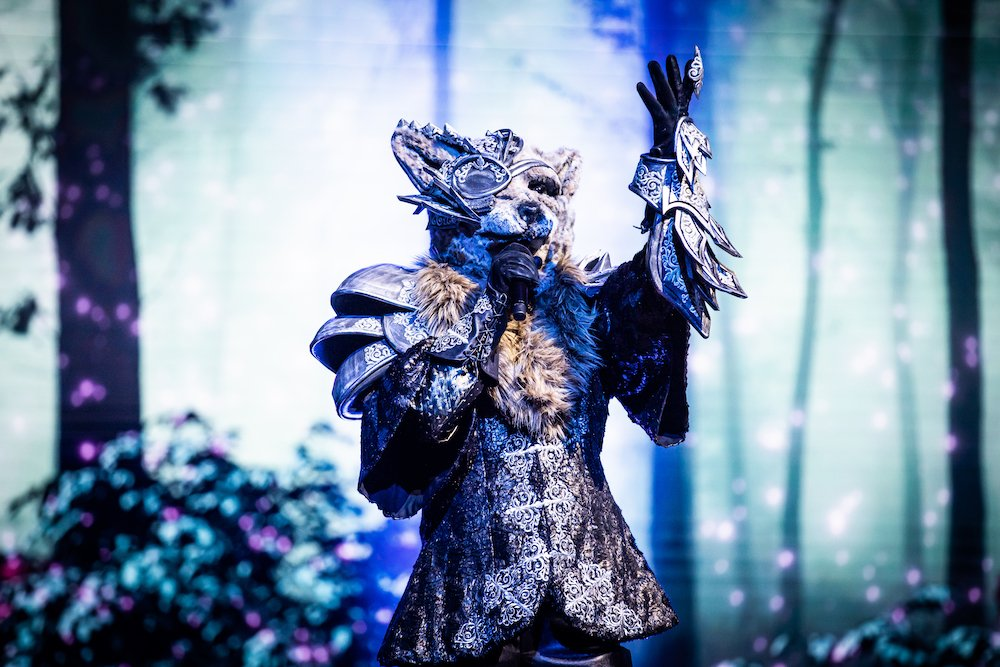 Wolf in eerste aflevering The Masked Singer