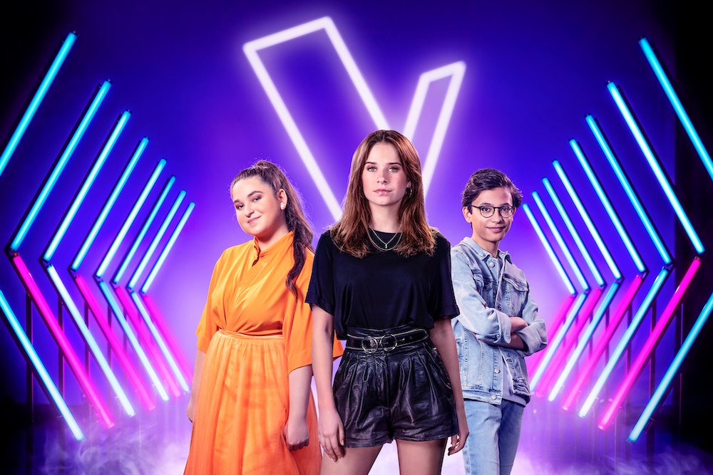 The Voice Kids 2020 Laura Tesoro en haar 2 finalisten Veronika en Justin