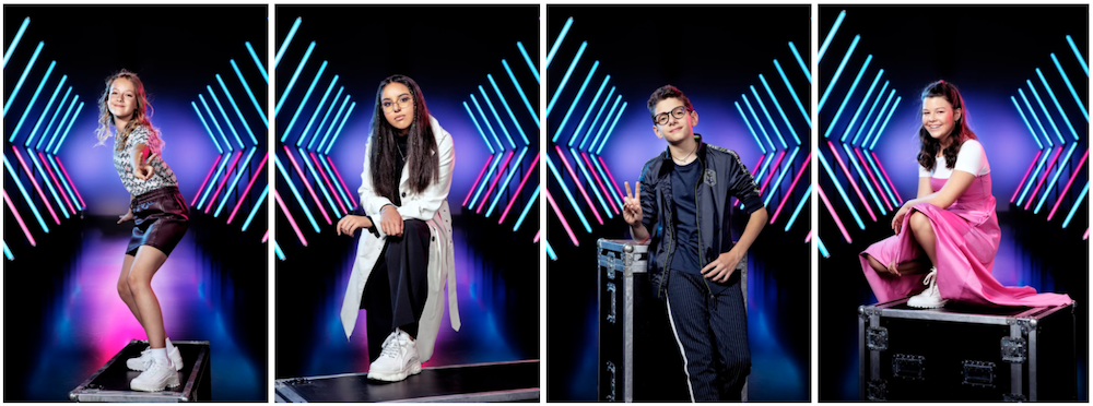 Team Gers Pardoel The Voice Kids halve finale 2020