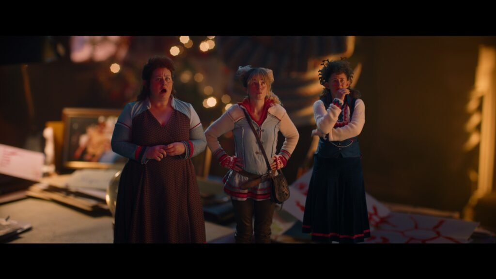 Eva van der Gucht, Josje Huisman en Janne Desmet zie je in kerstfilm op Netflix
