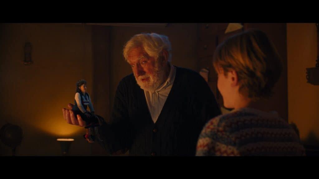 Mo Bakker, Jan Decleir en Janne Desmet in cast De Familie Claus