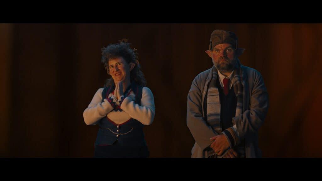 Stefaan Degand en Janne Desmet in de kerstfilm De Familie Claus op Netflix