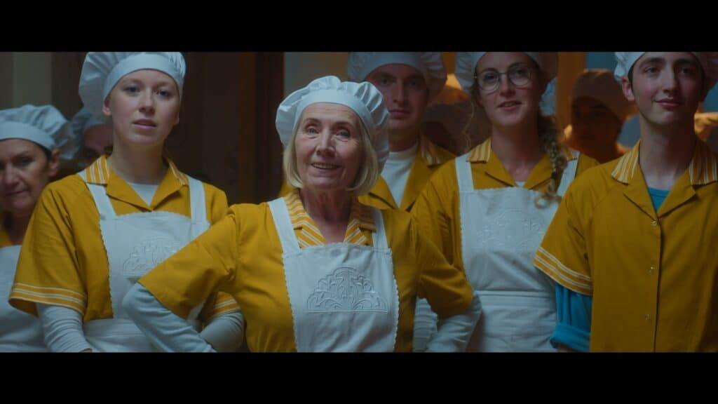 Sien Eggers behoort ook tot de cast van De Familie Claus