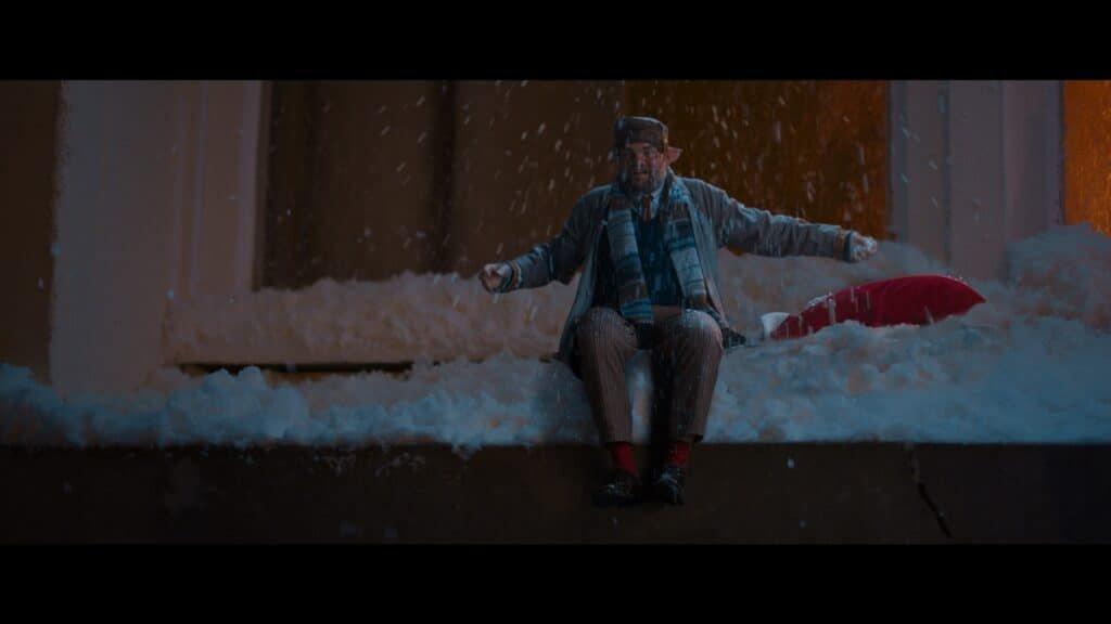 Stefaan Degabd in de kerstfilm De Familie Claus op Netflix