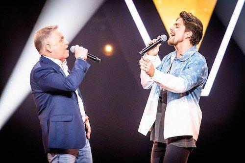 Duet Andre Hazes en Rene Sander The Voice Senior Belgie