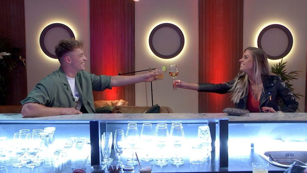 Kasper Paalman  in First Dates Specials, waarin BN'ers de liefde zoeken
