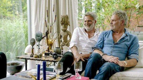 Kristof en Stefan Boxy in Latem Leven op VTM 2