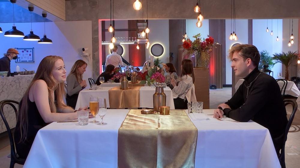Thomas Brok in First Dates Specials, waarin BN'ers de liefde zoeken