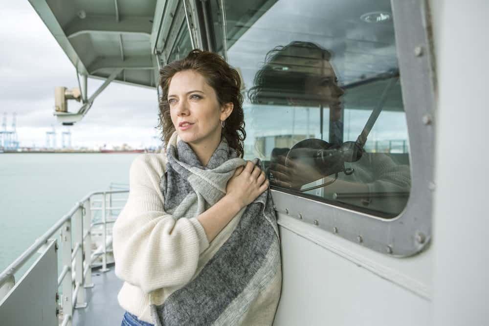 Greet Verstraete als Britt Teirlinck in Beau Séjour seizoen 2