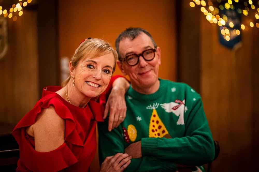 Marc en Bieke vieren Kerst bij de kampioenen
